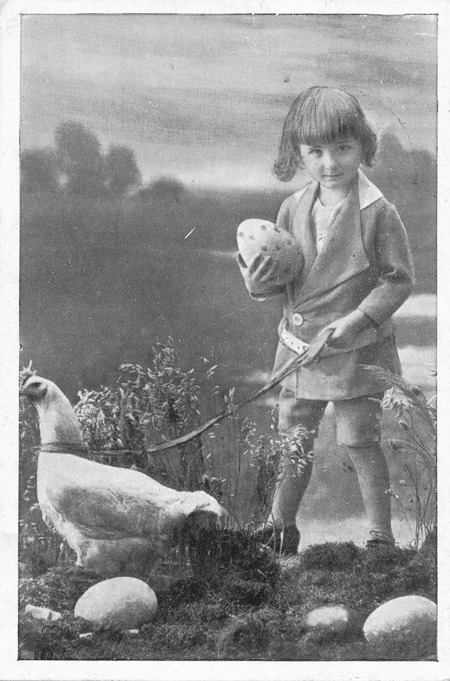 Påsk kort från 1928
