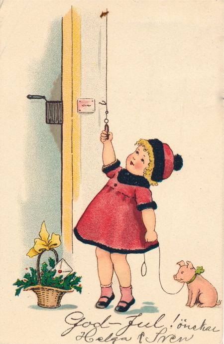 Julkort från 1928