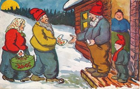 Julkort från 1932