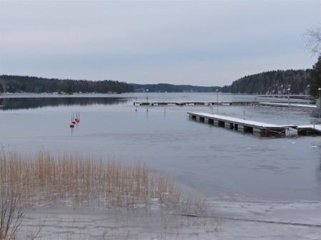 Båtklubben Rävarnas Gästhamn i väntan på nästa sommar.