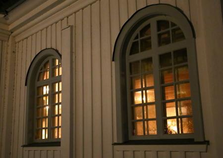 Sedan var det dags för Adventsmässa i Töcksmarks kyrka.