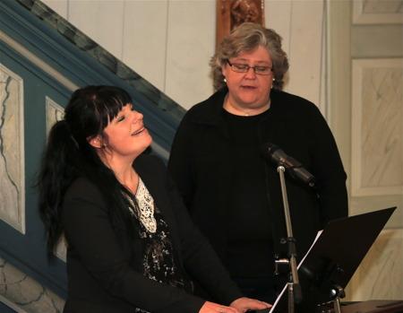 Mathilda Röjdemo och Marianne Tagesson Hansen.