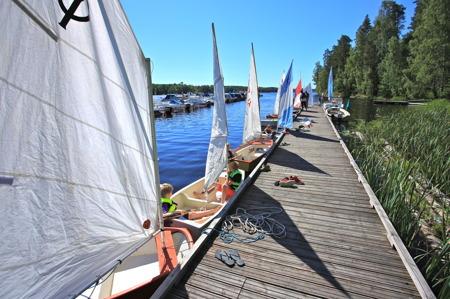 1 juli 2015 - Nu är alla båtar startklara.