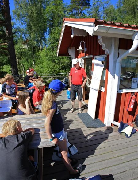 2 juli 2015 - Göran berättar om morgondagens stora händelse - Regattan Foxen Ocean Race.