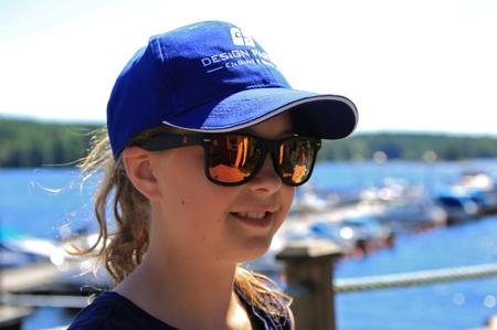 2 juli 2015 - Det är viktigt att skydda ögonen när solen är skarp.