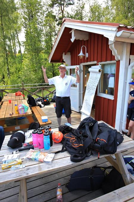 3 juli 2015 - Dags för prisutdelning, men först utdelning av årets badboll.