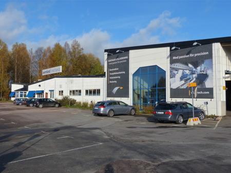 Wermland Mechanics - ett av många företag i Töcksfors.