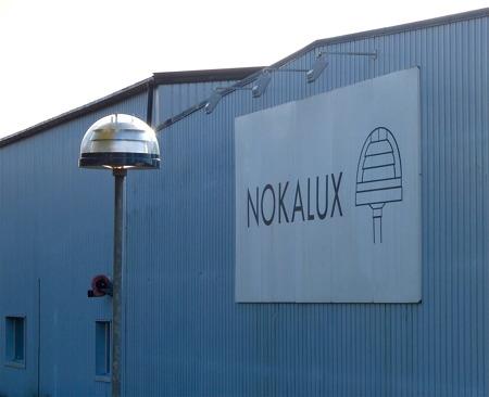 Nokalux - ett av många företag i Töcksfors.