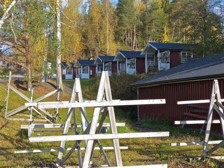 Sandvikens camping i höst- och vintervila.