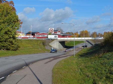 Viadukten som skall bli en rondell ?
