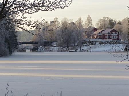 Turistgården vid gamla farleden till Hån.