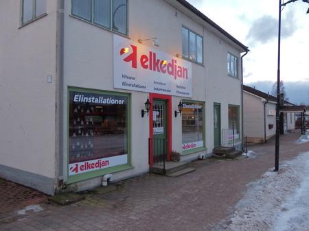Elkedjan har stängt butiken vid torget i Töcksfors.