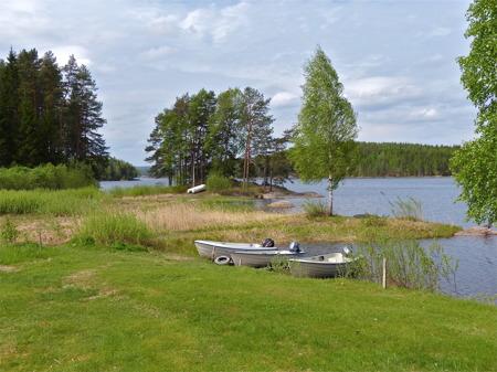 Ulvviken öster om Töcksfors.