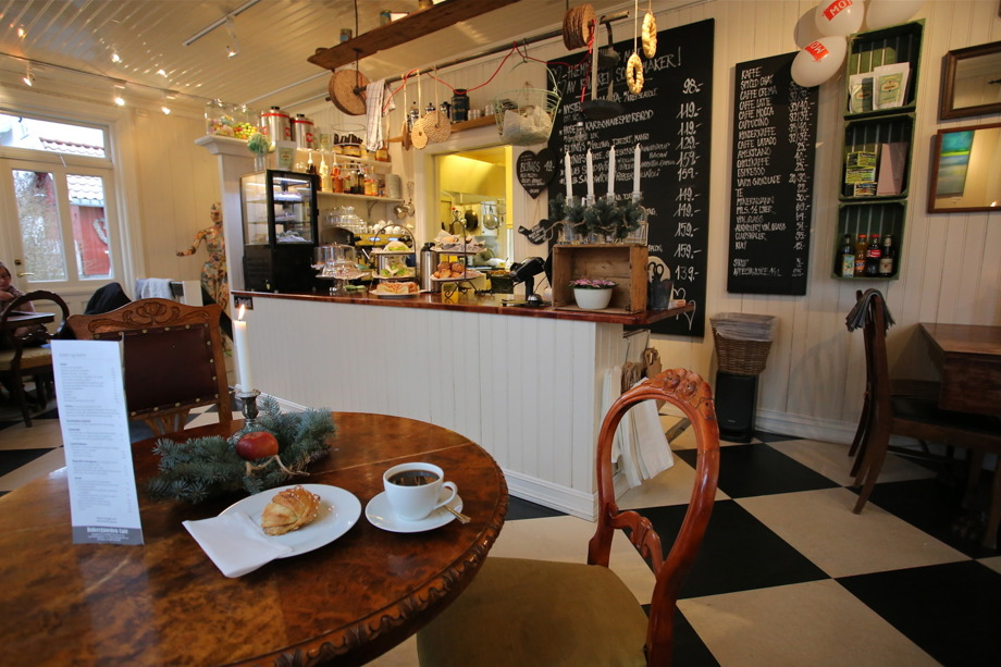 Bakergarden Café i Örje.