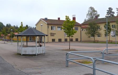 Töcksfors skola - låg-, mellan- och högstadieskola.