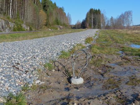 Det ska bli belysning längs med gång- och cykelvägen till Prästnäset.