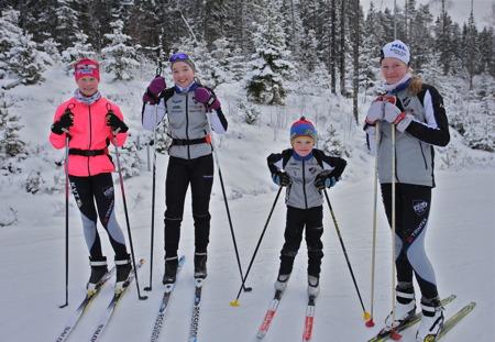 5 januari 2016 - Skidungdomar från Köla AIK var på plats för att testa spåren inför Gränsloppet på Kölen Sportcenter lördagen den 9 januari 2016.