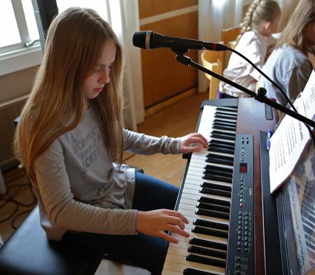 Det finns många musikaliska talanger i Töcksfors, och tillväxten är god.