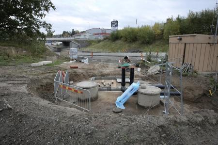 26 september 2017 - Här ska det bli en ny pumpstation.