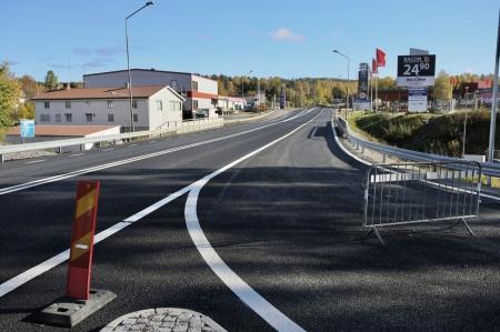 10 oktober 2017 - Nya utfarten från Älveruds Handelsområde.