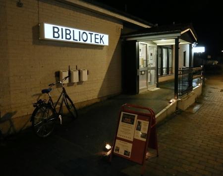 Töcksfors bibliotek bjöd in till bokmingel med boktips och information om bibliotekets olika tjänster.