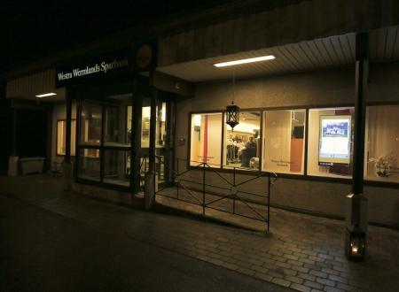 Westra Wermlands Sparbank informerade om bankens  digitala tjänster. Här kunde man även delta i en tävling med chans att vinna presentkort.