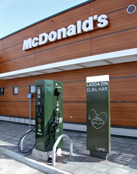 Laddningsstation för elbilar