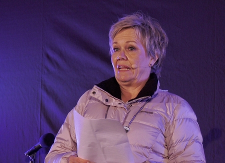 Kjersti Nythe Nilsen, ordfører i Marker.