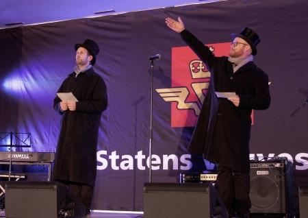 Lars Johansson och Pål Simen Stemmedalen från Soot-spelet.