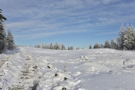 30 januari 2018 - Här skall vindkraftverk nr 6 stå.