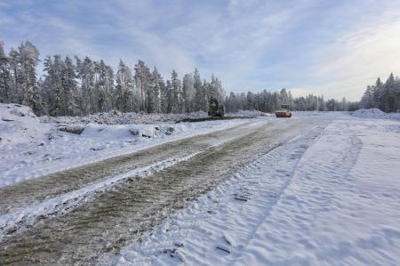 30 januari 2018 - Här skall vindkraftverk nr 7 stå.