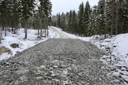 8 januari 2018 - Befintliga vägar på Joarknatten rätas ut, breddas och förstärks.