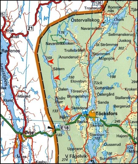 © Norstedts kartor www.norstedts.se / Klicka på kartan för större bild.