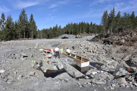 7 maj 2018 - Byggnation av fundamentet för vindkraftverk 7.