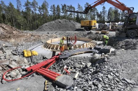 15 maj 2018 - Fundament för vindkraftverk 7.