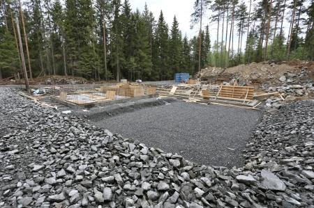 17 maj 2018 - Byggnation av transformatorstation.