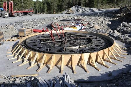 24 maj 2018 - Fundament 7 klart för gjutning.