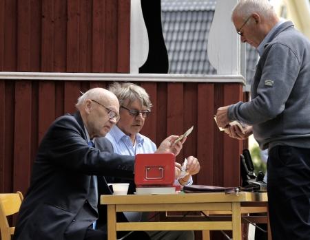 Medlemsavgiften i Fornminnesföreningen inkasserades.