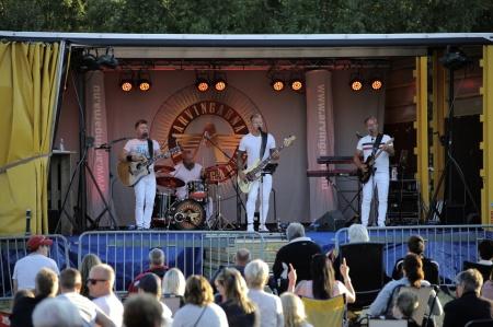 Arvingarna framförde en bejublad konsert vid Kulturladan Verket.