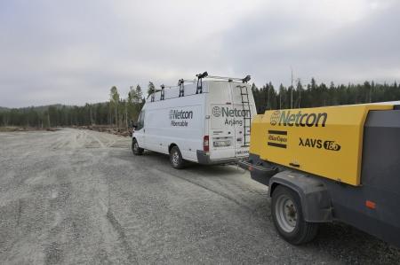 16 juli 2018 - Netcon bygger fibernät till vindkraft-verken.
