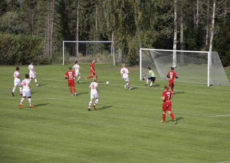 Här kom första målet för Töcksfors.