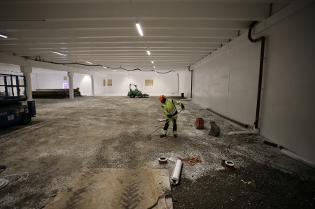 30 oktober 2018 - Nya delen av shoppingcentrets P-Hus färdigställs.