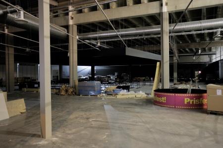 11 januari 2019 - Här byggs Gottebitens nya butiks-lokal.
