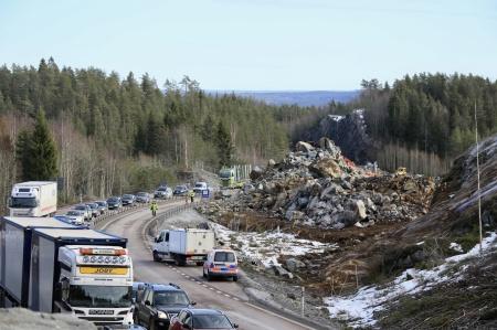 20 februari 2019 - Trafiken mot Norge släpptes på först.