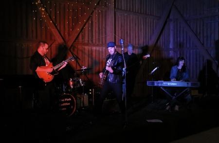 Lördagen avslutades med dans i Kulturladan Vârke, till Andreas Jonsson & The Pink Cadillac Band.