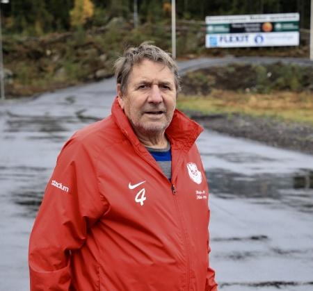 Thore Berglund - ordf. i Töcksfors IF och initiativ-tagare samt projektledare för byggandet av rullskidbanan vid Kölen Sportcenter.