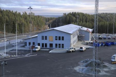 7 november 2019 - Tullstationens tak förses med solpaneler.