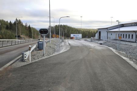 7 november 2019 - Här byggs nya kontrollplatsen.
