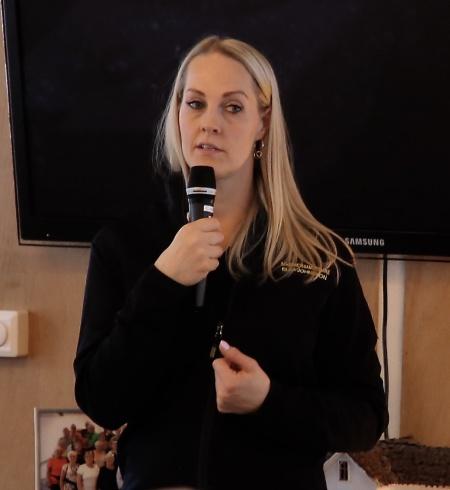 Säkerhetssamordnare Elsa Johnsson