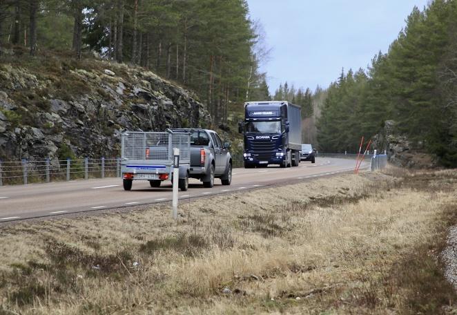 E18 Årjäng-Töcksfors byggdes på 1950- 60-talet, då som Riksväg 9.